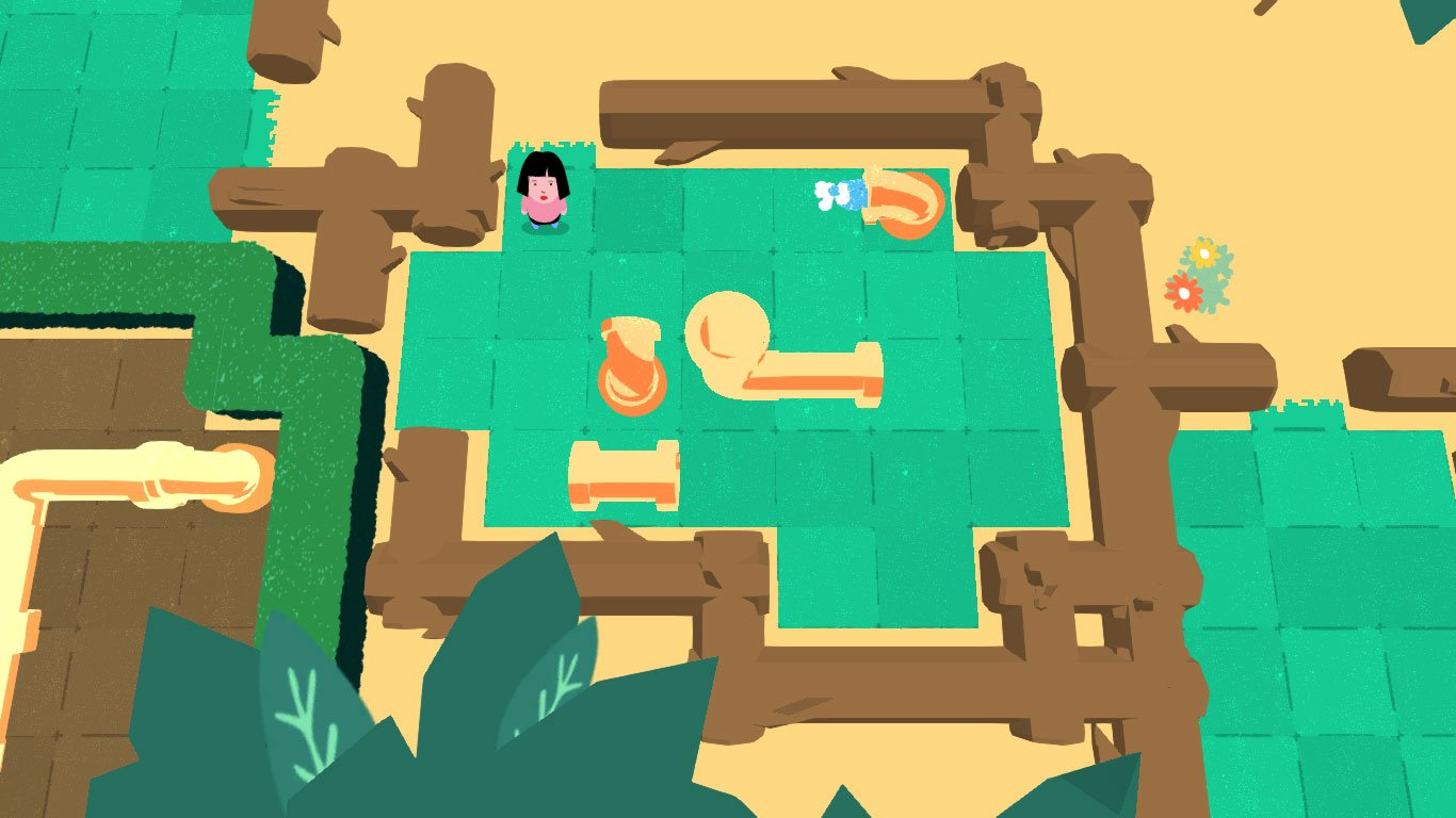 Pipe Push Paradise | A difficult open world puzzle game